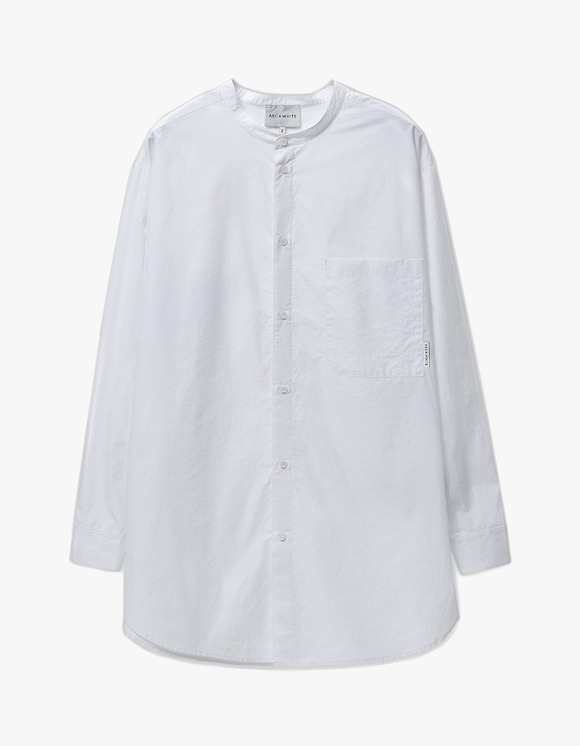 AECA WHITE Relaxed Long Shirt - White | HEIGHTS. | International Store