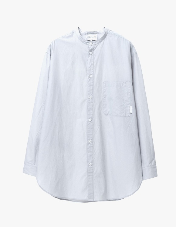 AECA WHITE Relaxed Long Shirt - Grey | HEIGHTS. | International Store