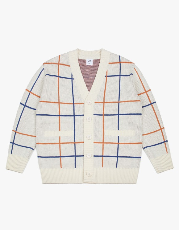CLIF Window Pain Check Cardigan | HEIGHTS. | International Store