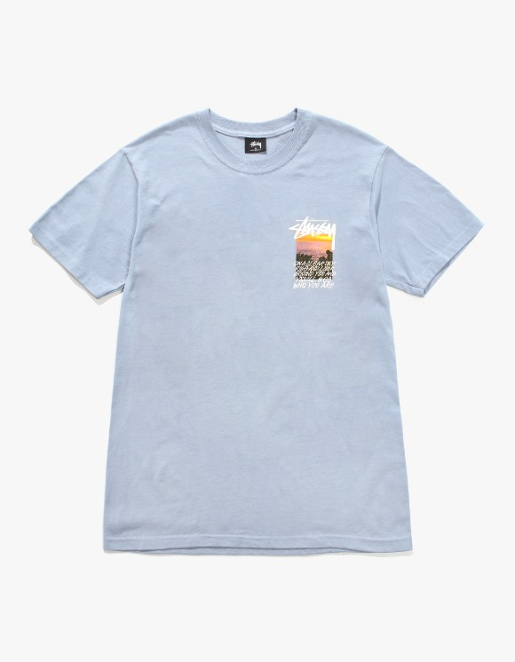 Stussy Clear Day Tee - Slate | HEIGHTS. | International Store