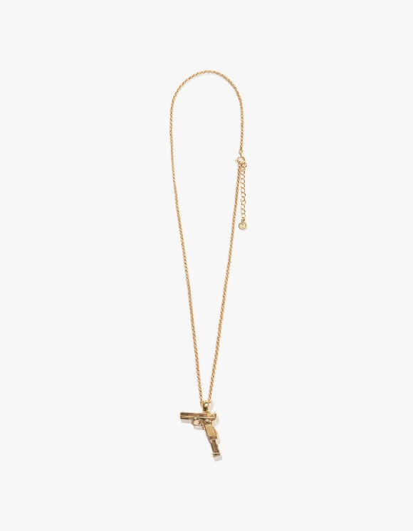 MARLIN Gold & Stone Glock Pendant Necklace | HEIGHTS. | International Store