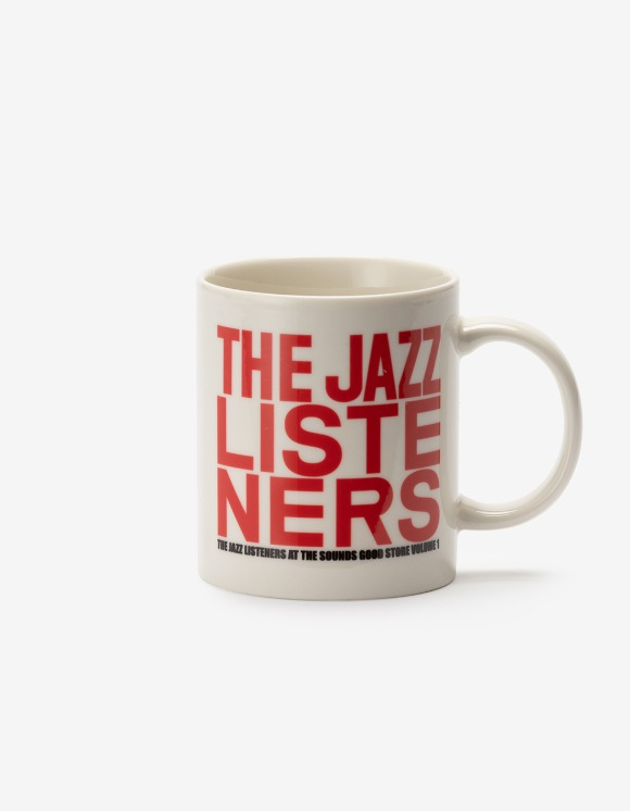sounds good! Jazz Listeners Mug - Red | HEIGHTS. | International Store