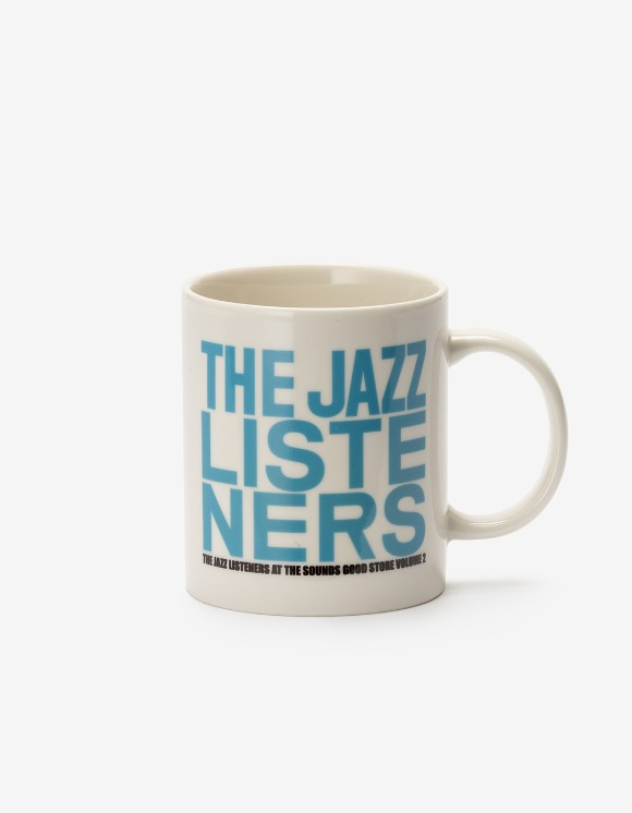 sounds good! Jazz Listeners Mug - Blue | HEIGHTS. | International Store