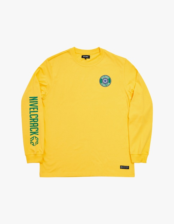 NIVELCRACK Club L/S Tee - Yellow | HEIGHTS. | International Store