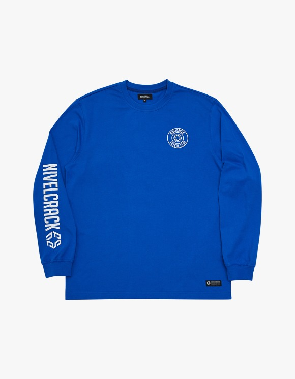 NIVELCRACK Club L/S Tee - Blue | HEIGHTS. | International Store