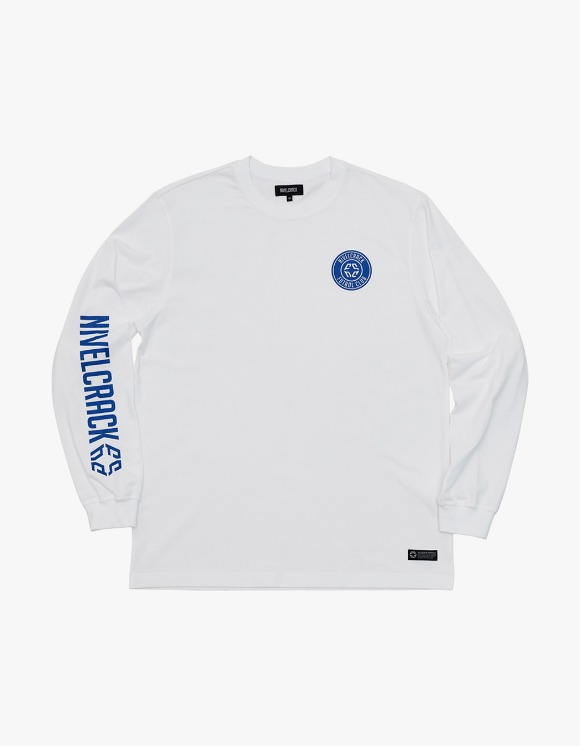 NIVELCRACK Club L/S Tee - White | HEIGHTS. | International Store