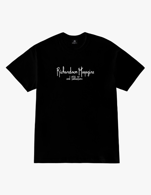 Richardson Richardson Magazine Tee - Black | HEIGHTS. | International Store