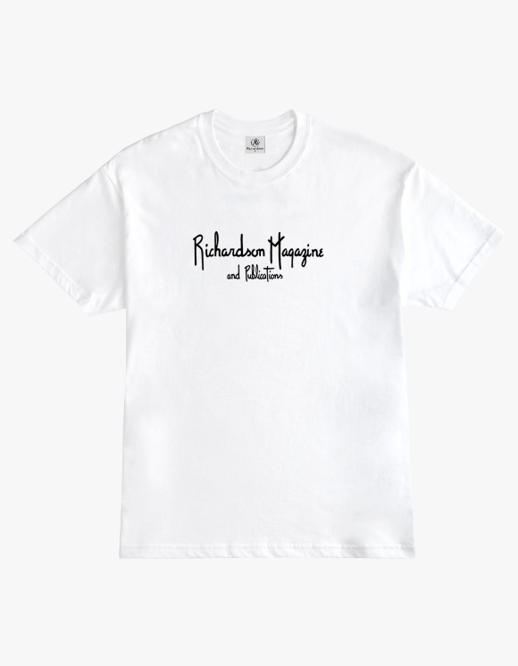 Richardson Richardson Magazine Tee - White | HEIGHTS. | International Store