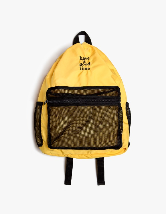have a good time Logo Day Pack - Yellow | HEIGHTS. | International Store
