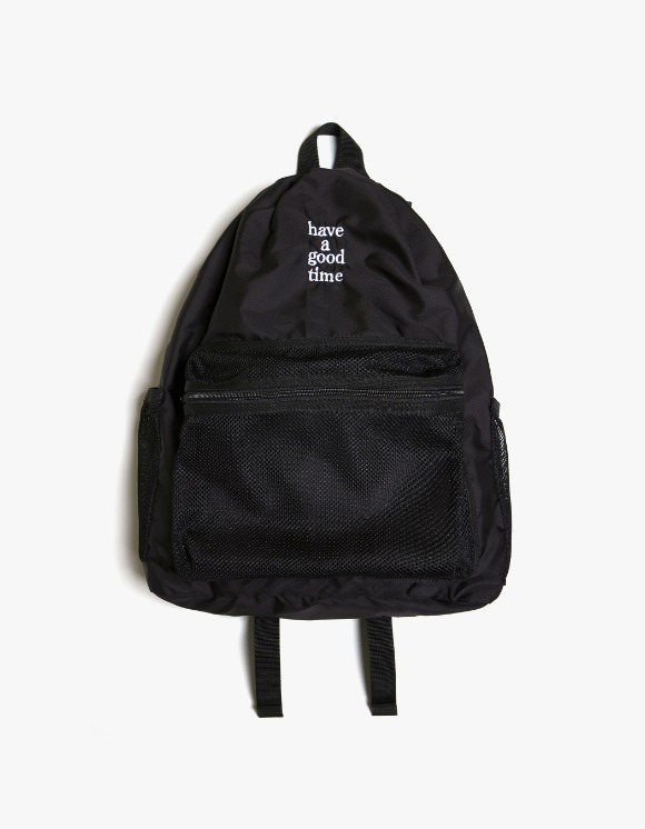 have a good time Logo Day Pack - Black | HEIGHTS. | International Store