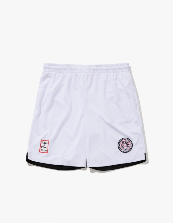 have a good time HAGT Soccer Shorts - White | HEIGHTS. | International Store