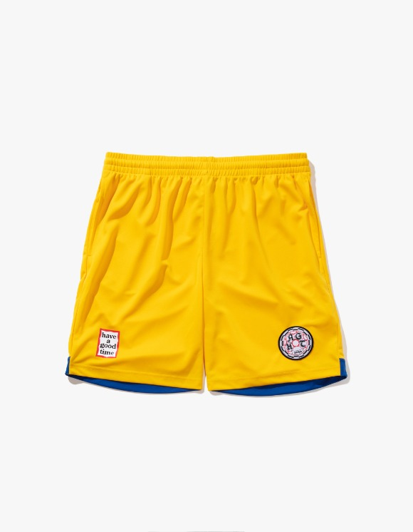 have a good time HAGT Soccer Shorts - Yellow | HEIGHTS. | International Store
