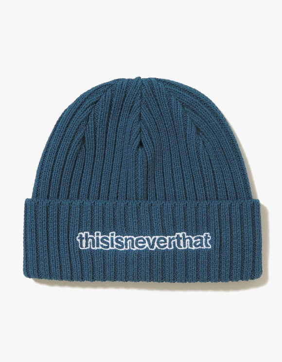 thisisneverthat T-Logo Beanie - Blue Green | HEIGHTS. | International Store
