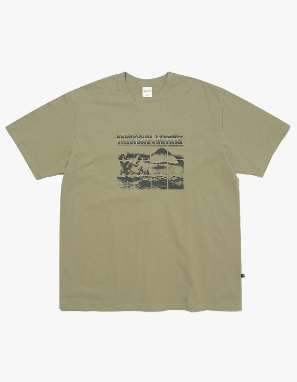 thisisneverthat Submarine Volcano Tee - Light Olive | HEIGHTS. | International Store