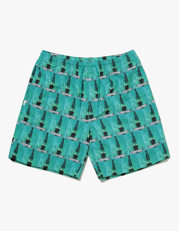 thisisneverthat Spaceship Nylon Short - Green | HEIGHTS. | International Store