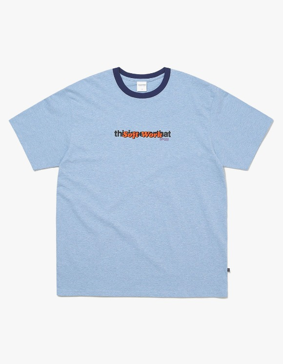 thisisneverthat TNT S.W. Tee - Blue | HEIGHTS. | International Store