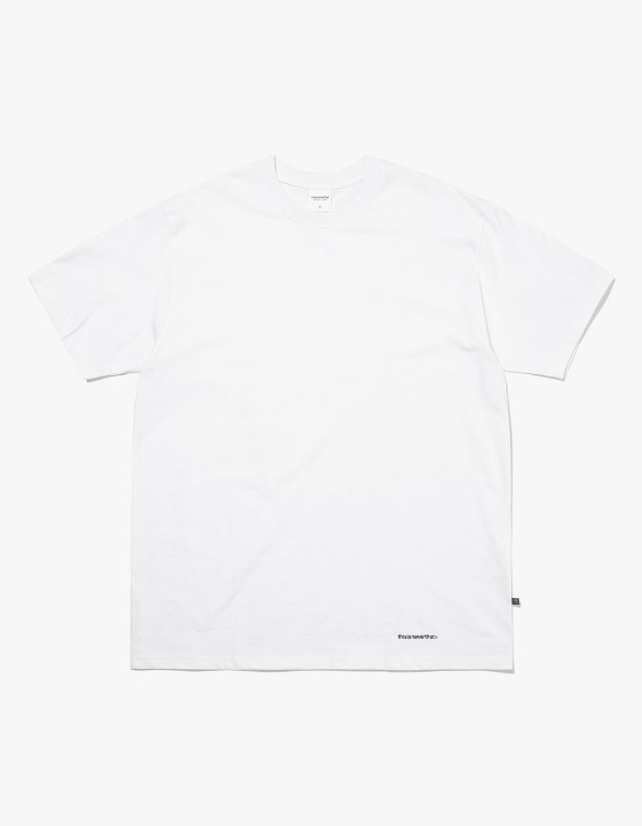 thisisneverthat Small T-Logo Tee - White | HEIGHTS. | International Store