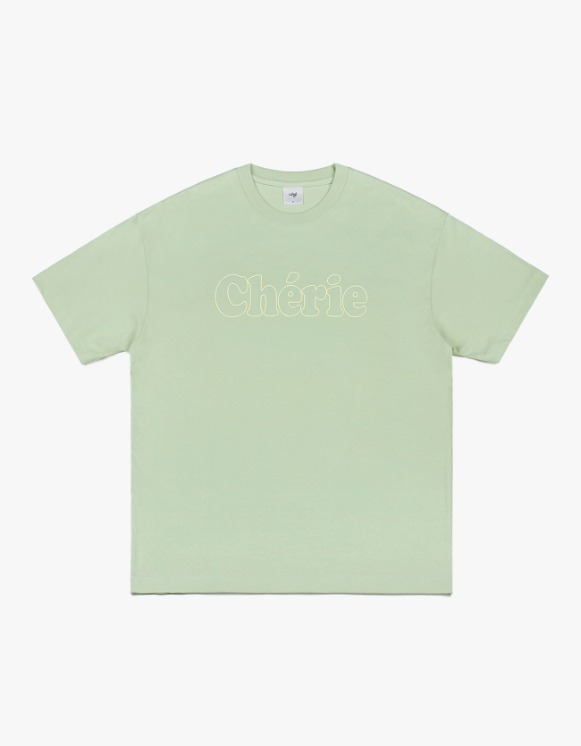 CLIF Cherie Line S/S Tee - Mint | HEIGHTS. | International Store