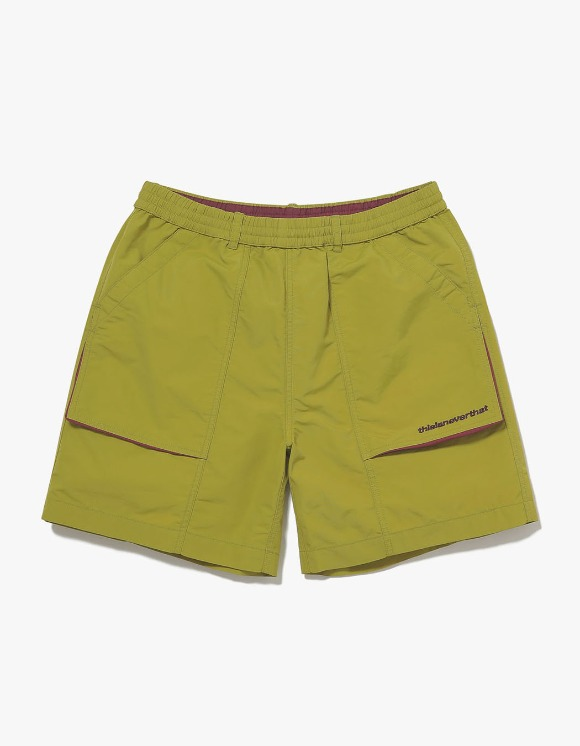 thisisneverthat Nylon Sport Short - Lime | HEIGHTS. | International Store
