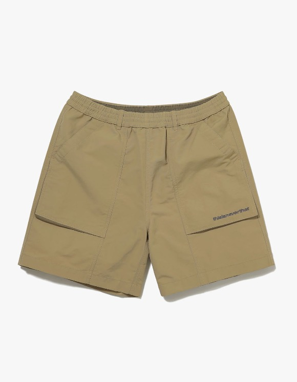 thisisneverthat Nylon Sport Short - Beige | HEIGHTS. | International Store