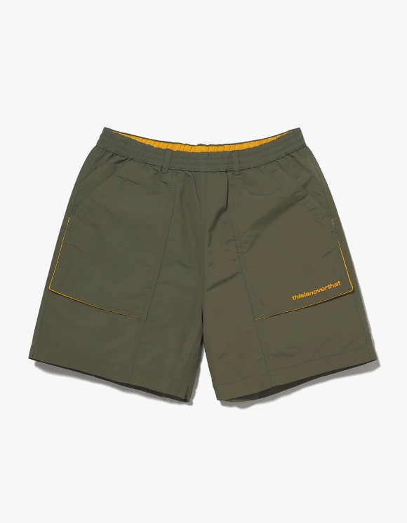 thisisneverthat Nylon Sport Short - Olive | HEIGHTS. | International Store
