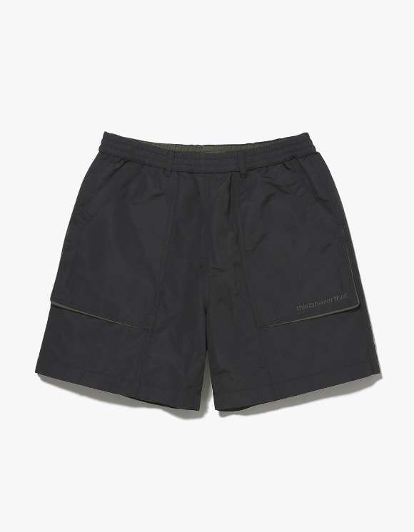 thisisneverthat Nylon Sport Short - Black | HEIGHTS. | International Store