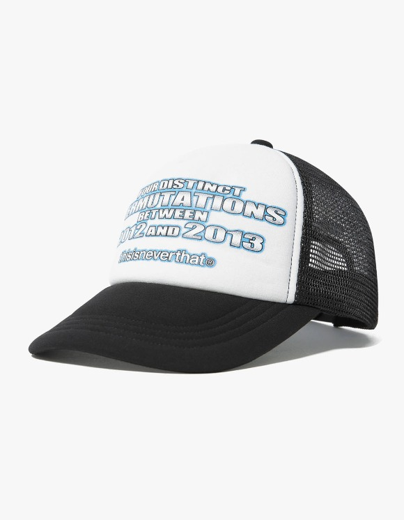 thisisneverthat PERMUTATIONS Mesh Trucker - Black | HEIGHTS. | International Store