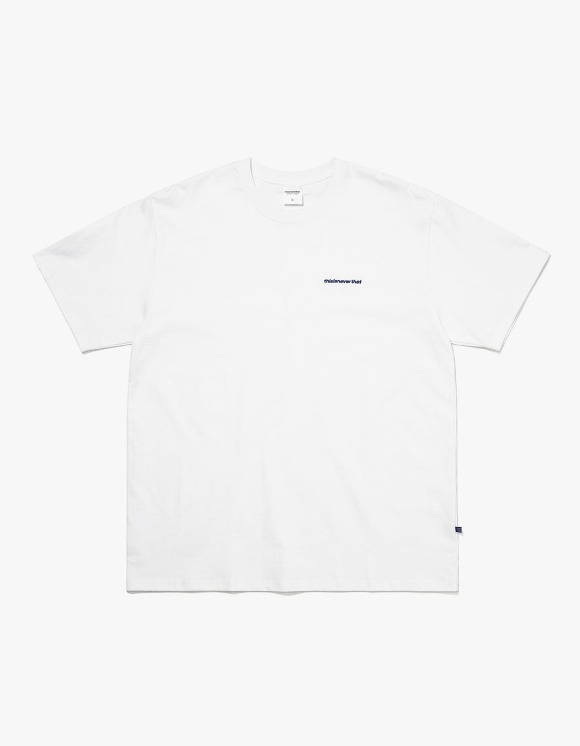 thisisneverthat SP-Logo Tee - White | HEIGHTS. | International Store