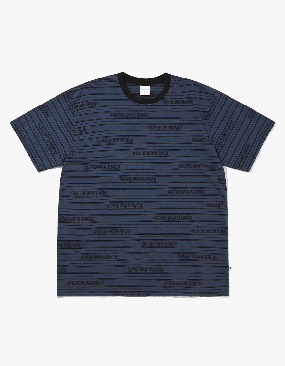 thisisneverthat Logo Jacquard Tee - Navy | HEIGHTS. | International Store