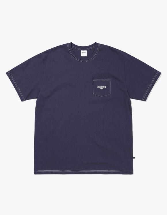 thisisneverthat DESIGN Pocket Tee - Dark Navy | HEIGHTS. | International Store