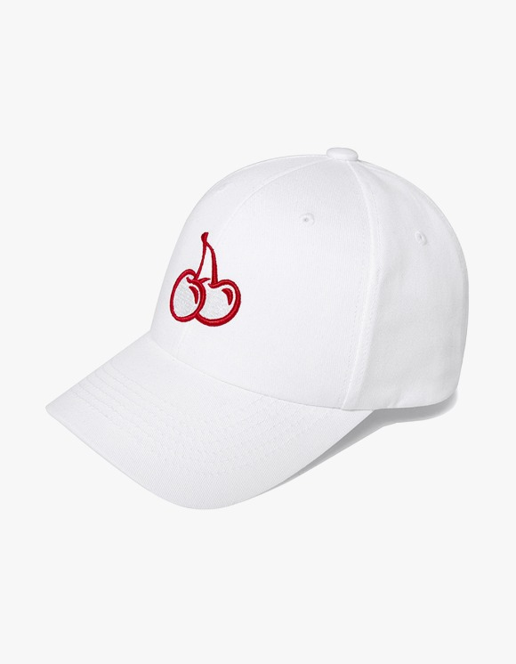 KIRSH MIDDLE CHERRY BALL CAP JH - White | HEIGHTS. | International Store