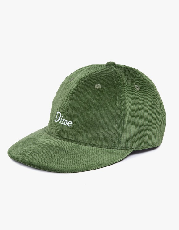 Dime Dime Classic Logo Corduroy Cap - Green | HEIGHTS. | International Store