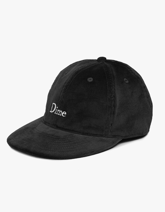 Dime Dime Classic Logo Corduroy Cap - Black | HEIGHTS. | International Store